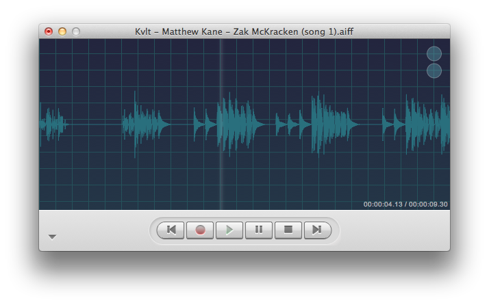 Kvlt Audio Recorder for OS X