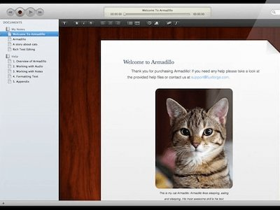 Audio Notes for Mac Screenshot