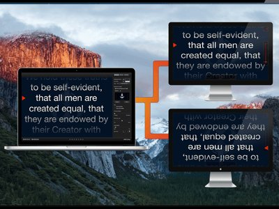 Mac Teleprompter Screenshot