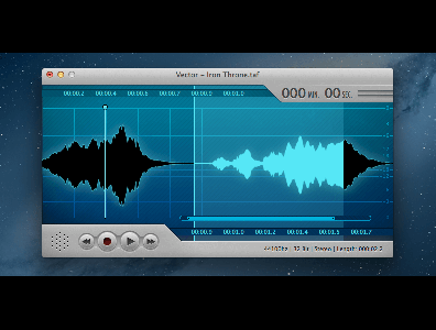 Vector 3 - Easy Audio Editing for the Mac | OS X Audio Editor