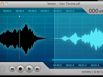 Mac Audio Editor Screenshot